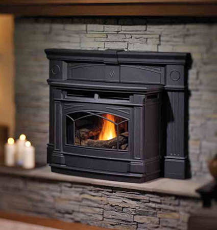 Stupendous Pellet Fireplace Inserts Pellet Burning Inserts Wood Home Interior And Landscaping Mentranervesignezvosmurscom