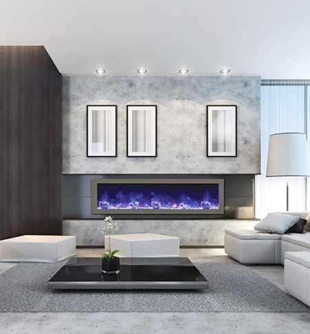 Electric Fireplaces Inserts Wall Mounted