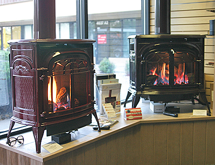 Gas Burning Stoves Direct Vent Modern